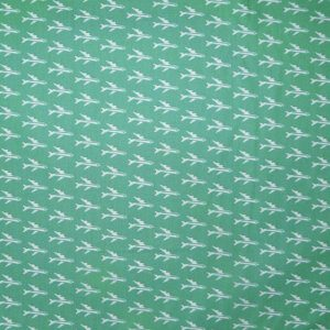 Sevenberry cotton fabric - retro planes