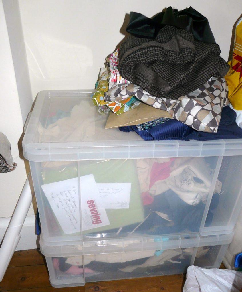 handmade wardrobe - getting organised