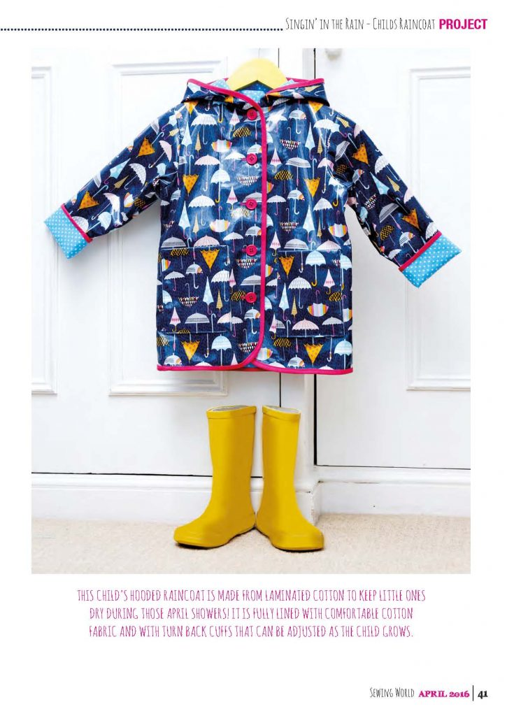 Child's raincoat