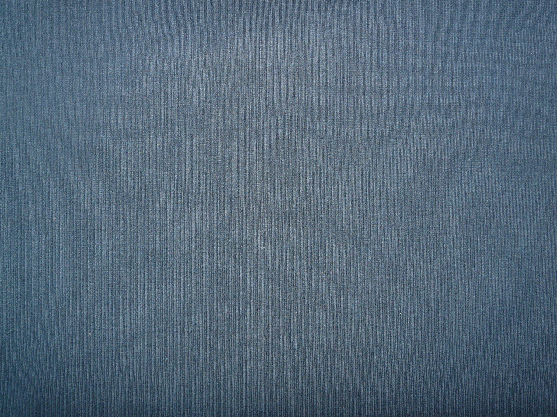 4064b33b929 Plain navy cotton jersey ribbing fabric - Bobbins & Buttons