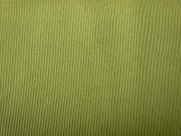 olive cotton jersey ribbing fabric