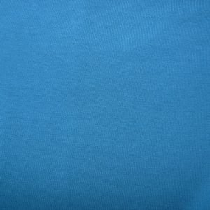 mid petrol blue cotton sweatshirt jersey