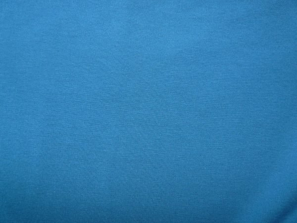 mid petrol blue cotton sweatshirt jersey