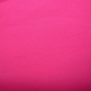 Plain hot pink cotton sweatshirt