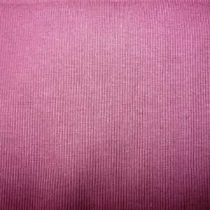 plum cotton jersey ribbing fabric