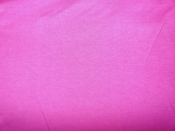 plain hot pink cotton/elastane