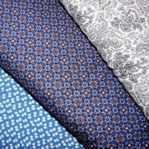 Viscose and Polyester