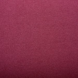 Plain Burgundy cotton jersey ribbing