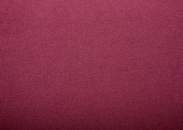 Plain Burgundy cotton jersey ribbing