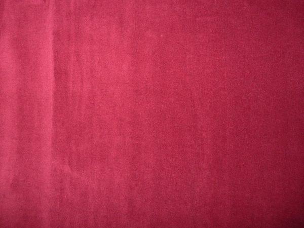 velvet fabric - Burgundy