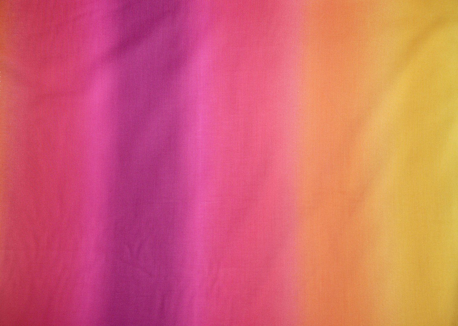 Ombre printed cotton fabric hot pink to orange bobbins for Printed cotton fabric