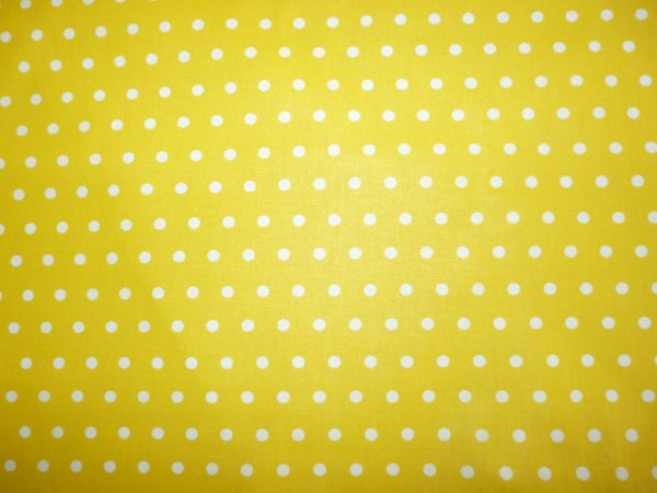yellow polka dot