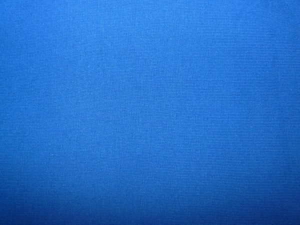 Plain Royal blue cotton jersey ribbing