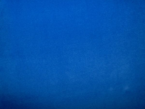 Stretch velvet fabric - Royal blue