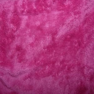 Deep pile plush cuddle fleece - Hot pink