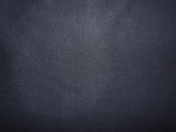 Plain dark navy blue cotton jersey ribbing