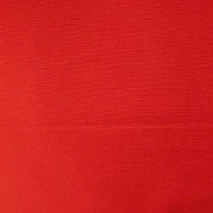 red 240gsm cotton/elastane jersey ribbing
