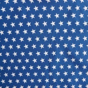 Royal blue small star print