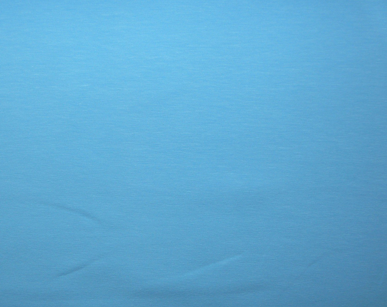 9e065959393 Plain sky blue cotton/elastane jersey fabric - Bobbins & Buttons