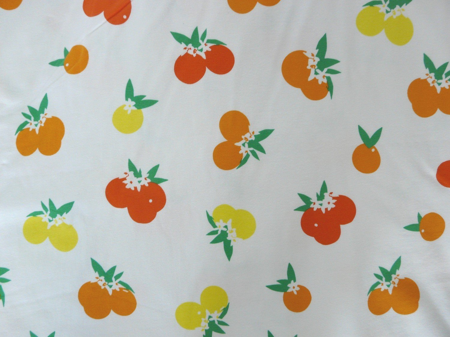 Art gallery art gallery fiesta fun citrus sunrise jersey for Children s jersey fabric uk