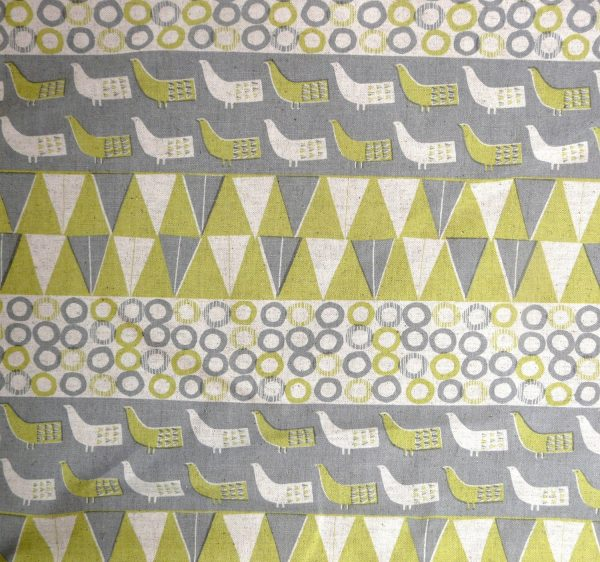 bird print cotton
