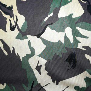 Camouflage fine cotton lawn