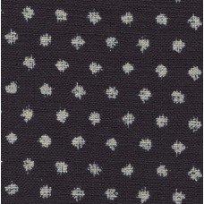 Sevenberry indigo splodge spot print