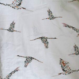 Lady McElroy - Pale grey butterfly bird