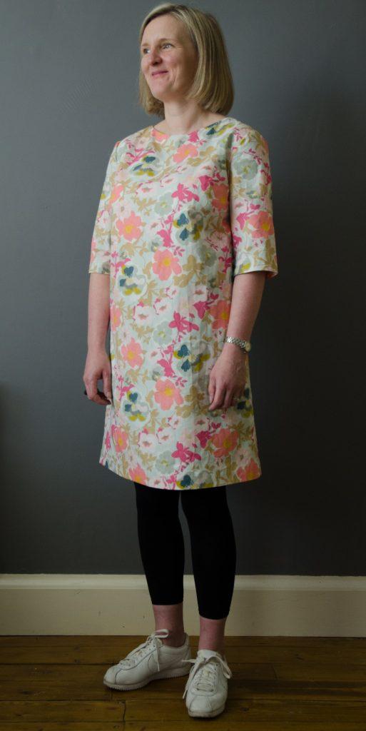 Simple shift dress