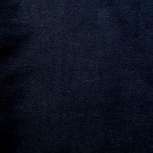Plain black 240gsm cotton/elastane jersey ribbing