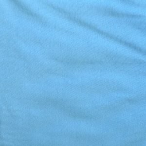 Light blue 240gsm cotton/elastane jersey ribbing