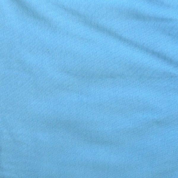 Light blue 240gsm cotton/elastane jersey ribbing