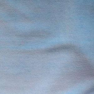 cotton velvet fabric - Light blue