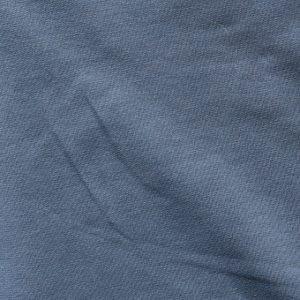 French terry - cotton/elastane denim blue