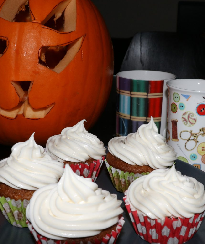 Pumpkin passion cupcakes