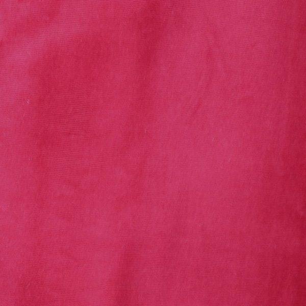 Stretch needlecord - cherry red