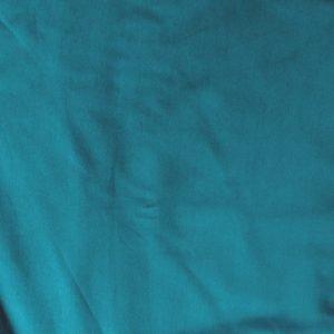 t-shirt weight jersey fabric - teal