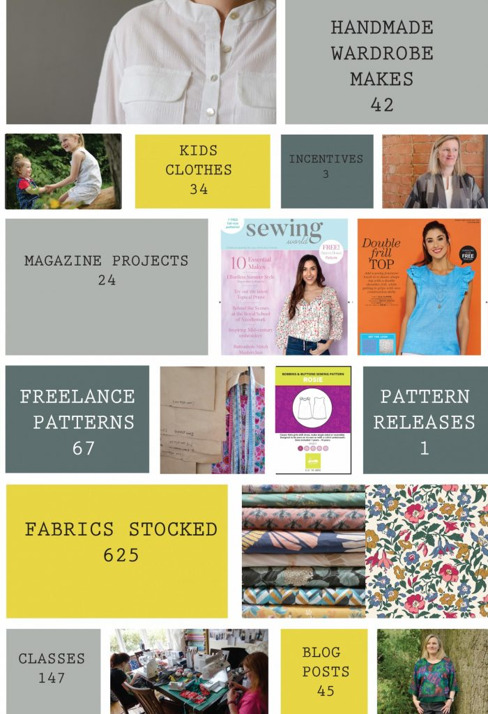 Bobbins and Buttons - A review of 2017