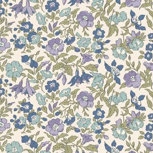 Liberty - The English Garden - Mamie, blue