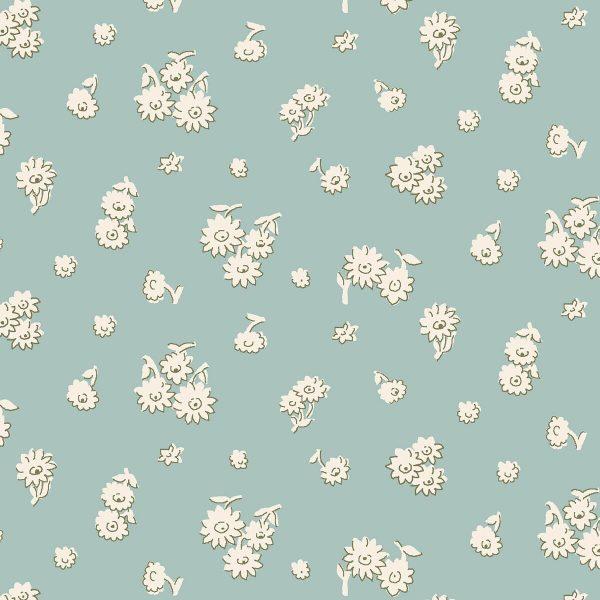 The English Garden - Tumbling daisy, duck egg