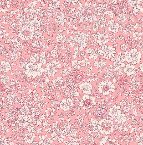 The English Garden - Emily silhouette, pink