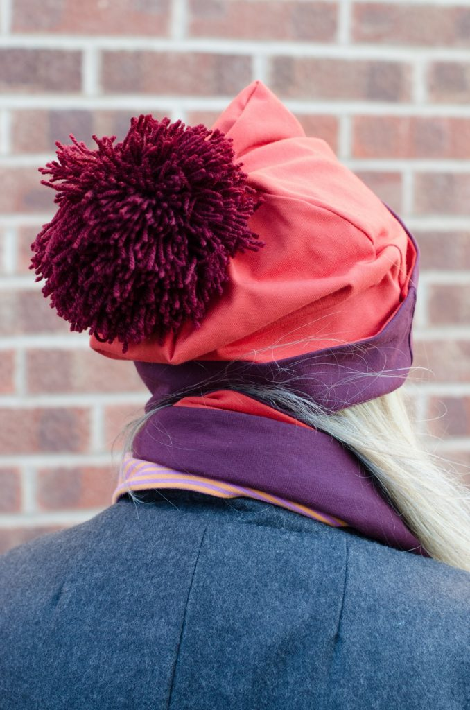 jersey pom pom hat
