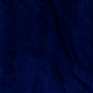 Stretch cotton velvet fabric - midnight blue