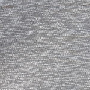 Cotton/polyester textured light/medium jersey fabric - grey