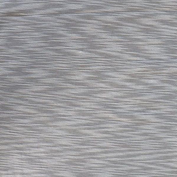 Cotton/polyester textured light/medium jersey fabric - grey