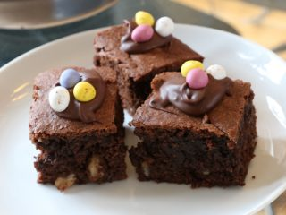 Recipe – Easter chocolate brownies