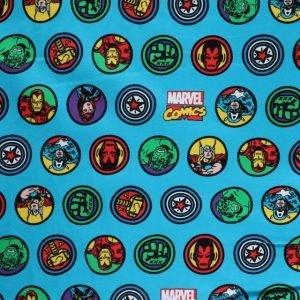 Avenger print knit