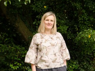 My handmade wardrobe – No pattern top and linen trousers.