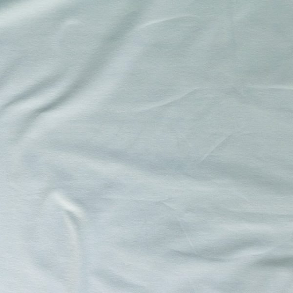 t-shirt weight jersey fabric - Duck egg blue