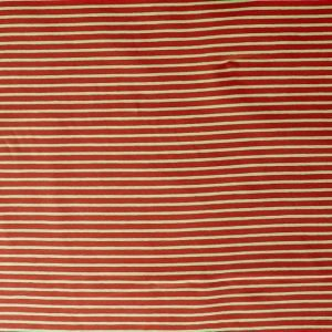 striped jersey fabric - red/green